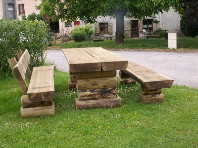 Les Tables - Sarl SCIEBOIS