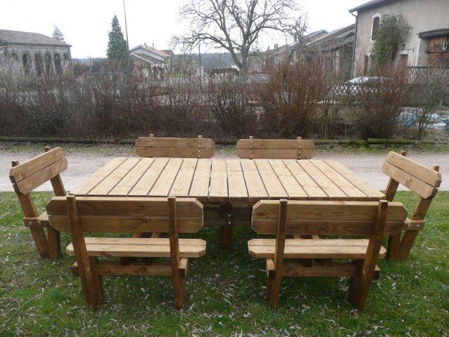 Devis en 1 click - Table d exterieur en bois ...