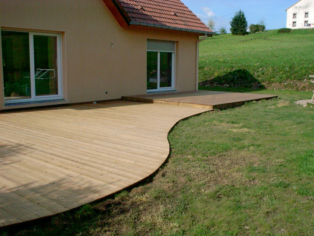 Terrasse Bois Arrondie Pictures to pin on Pinterest